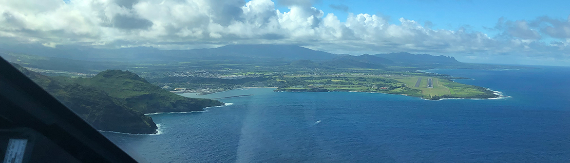 Approaching Hawaii
